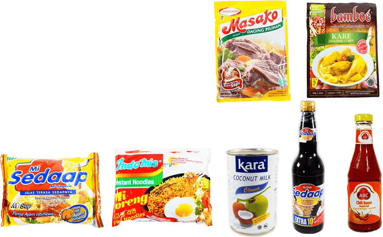 Indonesian products